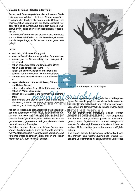 Erzähl mal was! Erzählkompetenzen in der Grundschule - kreative Unterrichtsideen: Material komplett Preview 28