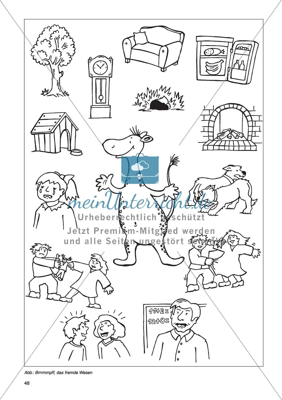 Erzähl mal was! Erzählkompetenzen in der Grundschule - kreative Unterrichtsideen: Material komplett Preview 43