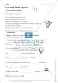 Lesekompetenz: Falsche Wörter finden und ersetzen: Arbeitsblätter und Lösungen Preview 2