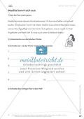 Lesekompetenz: Falsche Wörter finden und ersetzen: Arbeitsblätter und Lösungen Preview 4