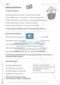 Lesekompetenz: Falsche Wörter finden und ersetzen: Arbeitsblätter und Lösungen Preview 5