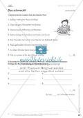 Lesekompetenz: Falsche Wörter finden und ersetzen: Arbeitsblätter und Lösungen Preview 6