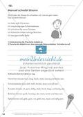 Lesekompetenz: Formulieren: Sätze bilden, Unterschiede erkennen: Arbeitsblätter und Lösungen Preview 2