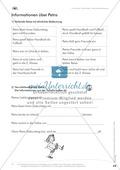 Lesekompetenz: Formulieren: Sätze bilden, Unterschiede erkennen: Arbeitsblätter und Lösungen Preview 3