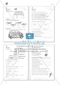 Lesekompetenz: Formulieren: Sätze bilden, Unterschiede erkennen: Arbeitsblätter und Lösungen Preview 7