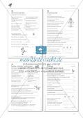 Lesekompetenz: Formulieren: Sätze bilden, Unterschiede erkennen: Arbeitsblätter und Lösungen Preview 8