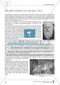 Text/Texträtsel: Das Leben Sokrates' (ca. 470–399 v.Chr.) Preview 1