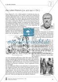 Text/Texträtsel: Das Leben Platons (ca. 427–347 v. Chr.) Preview 1