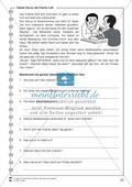 Gehen Sie an die frische Luft: Lesetext, Arbeitsblätter und Lösungen Preview 1