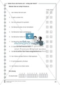 Gehen Sie an die frische Luft: Lesetext, Arbeitsblätter und Lösungen Preview 5