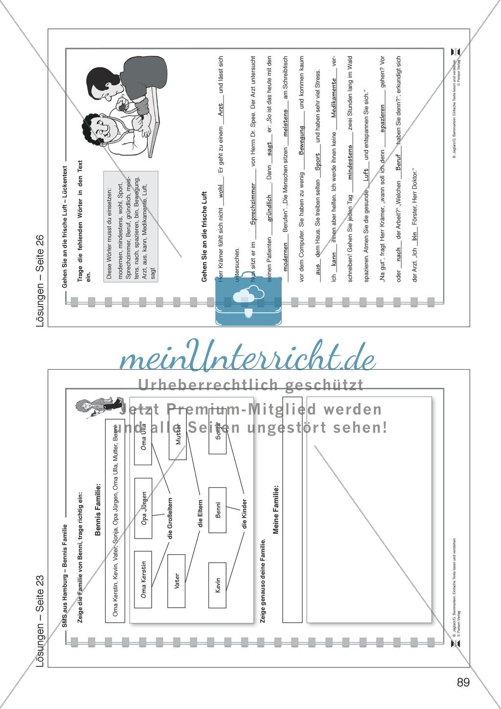 SMS aus Hamburg: Lesetext, Arbeitsblätter und Lösungen Preview 10