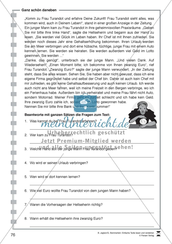 Beste Lesen Arbeitsblatt Grad 3 Zeitgenössisch - Mathe Arbeitsblatt ...
