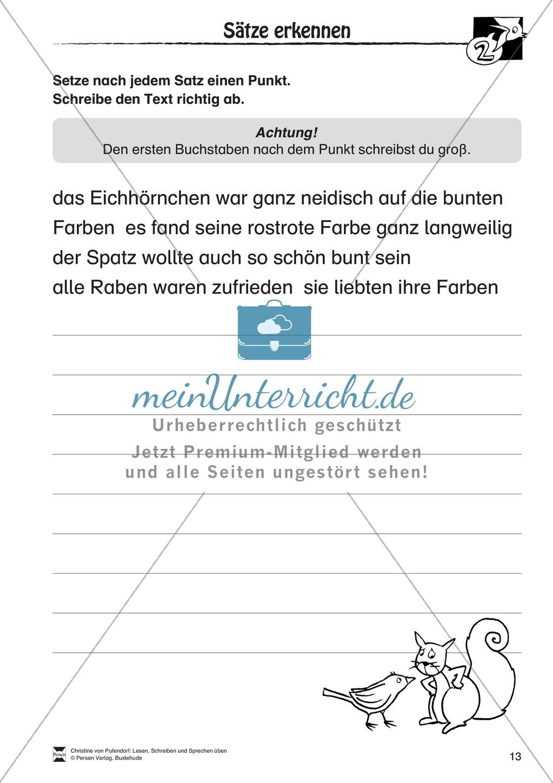 """Lesen - Schreiben - Sprechen: """" Als die Raben (...) """" Lesekarten + Arbeitsblätter zur Sprachförderung Preview 10"""