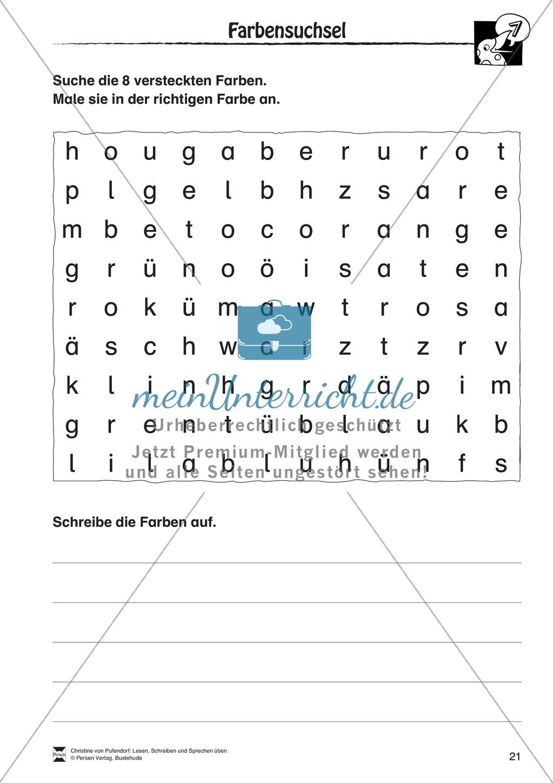 """Lesen - Schreiben - Sprechen: """" Als die Raben (...) """" Lesekarten + Arbeitsblätter zur Sprachförderung Preview 18"""