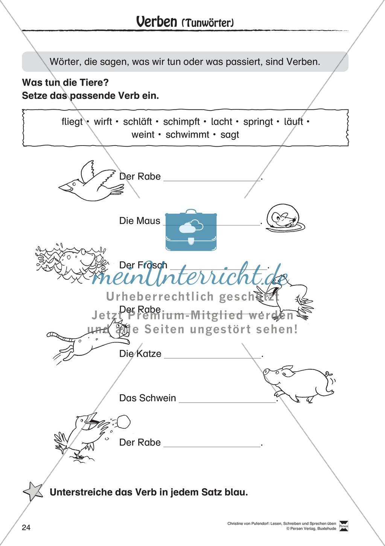 """Lesen - Schreiben - Sprechen: """" Als die Raben (...) """" Lesekarten + Arbeitsblätter zur Sprachförderung Preview 21"""