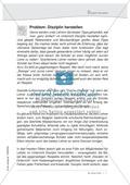 Deutsch, Didaktik, Unterricht vorbereiten, Tipps für den Lehreralltag, Disziplin herstellen