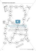 Spielplan Würfelspiel: Arbeitsblatt Preview 1