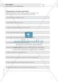Berufe - Koch und Köchin: Sprichwörter und Bedeutung - Aufgabe + Lösungen Preview 1