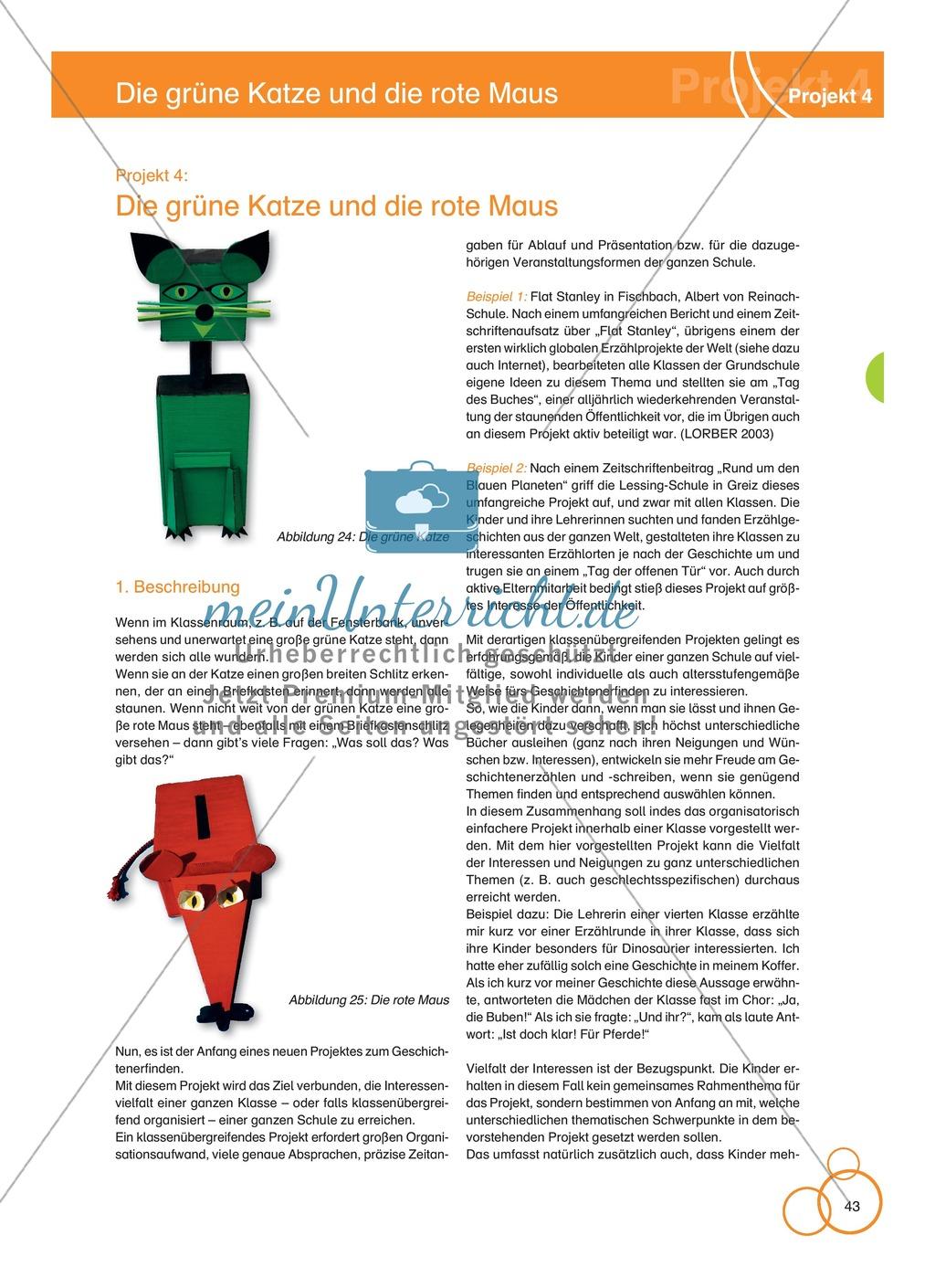 Projekt 4: Die grüne Katze und die rote Maus Preview 0