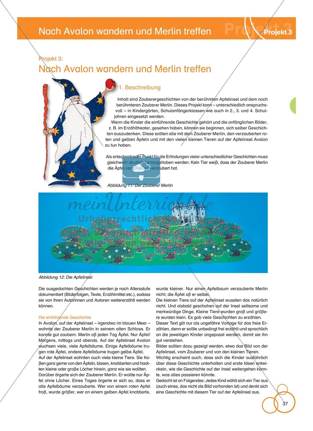 Projekt 3: Nach Avalon wandern und Merlin treffen Preview 0