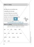 Stationentraining Farben: Arbeitsblätter mit Lösungen, Diktat Preview 13