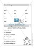 Stationentraining Farben: Arbeitsblätter mit Lösungen, Diktat Preview 7