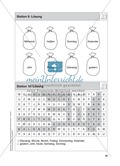 Stationentraining Kalender: Arbeitsblätter mit Lösungen, Diktat Preview 11