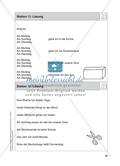 Stationentraining Kalender: Arbeitsblätter mit Lösungen, Diktat Preview 13