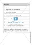 Stationentraining Kalender: Arbeitsblätter mit Lösungen, Diktat Thumbnail 13