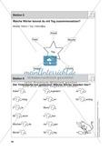Stationentraining Kalender: Arbeitsblätter mit Lösungen, Diktat Thumbnail 5