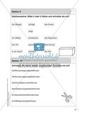 Stationentraining Uhr: Arbeitsblätter mit Lösungen, Diktat Preview 10