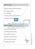 Stationentraining Uhr: Arbeitsblätter mit Lösungen, Diktat Preview 11