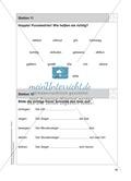 Stationentraining Uhr: Arbeitsblätter mit Lösungen, Diktat Preview 12