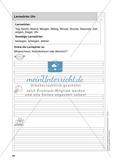 Stationentraining Uhr: Arbeitsblätter mit Lösungen, Diktat Preview 1