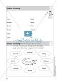 Stationentraining Uhr: Arbeitsblätter mit Lösungen, Diktat Preview 5