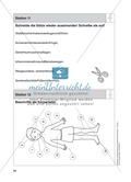 Stationentraining Körper: Arbeitsblätter mit Lösungen, Diktat Preview 12