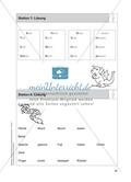 Stationentraining Körper: Arbeitsblätter mit Lösungen, Diktat Preview 9