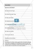 Stationentraining Zahlen: Arbeitsblätter mit Lösungen, Diktat Preview 14