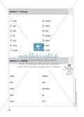 Stationentraining Zahlen: Arbeitsblätter mit Lösungen, Diktat Preview 3