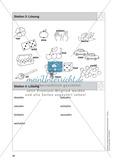 Stationentraining Zahlen: Arbeitsblätter mit Lösungen, Diktat Preview 5