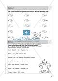 Stationentraining Zahlen: Arbeitsblätter mit Lösungen, Diktat Preview 6