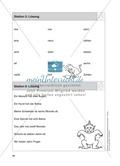 Stationentraining Zahlen: Arbeitsblätter mit Lösungen, Diktat Preview 7