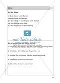 Stationentraining Wiese: Arbeitsblätter mit Lösungen, Diktat Preview 15