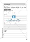 Stationentraining Wiese: Arbeitsblätter mit Lösungen, Diktat Preview 1