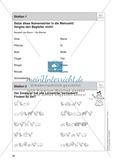 Stationentraining Wiese: Arbeitsblätter mit Lösungen, Diktat Preview 2