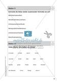 Stationentraining Familie: Arbeitsblätter mit Lösungen, Diktat Preview 12