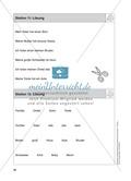 Stationentraining Familie: Arbeitsblätter mit Lösungen, Diktat Preview 13