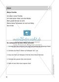 Stationentraining Familie: Arbeitsblätter mit Lösungen, Diktat Preview 15