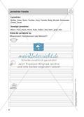 Stationentraining Familie: Arbeitsblätter mit Lösungen, Diktat Preview 1