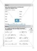 Stationentraining Familie: Arbeitsblätter mit Lösungen, Diktat Preview 2